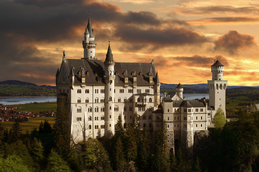 Bawaria Zamek Niczym Z Bajki Zamek Neuschwanstein Traveler