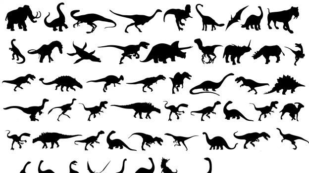 dinosaurs-silhouettes1