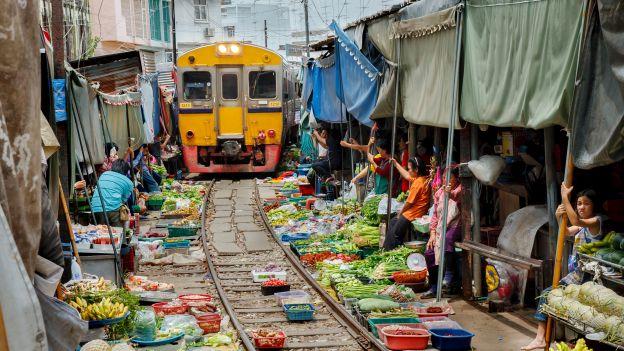 Podróżowanie pociągiem