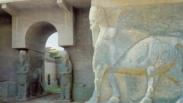 1. Miasto Nimrud, starożytna stolica Asyryjczyków