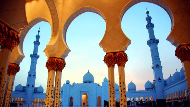 Meczet Sheikh Zayed w Abu Zabi