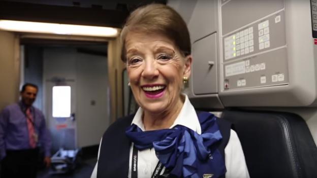 Bette Nash to prawdopodobnie najbardziej doświadczona stewardessa
