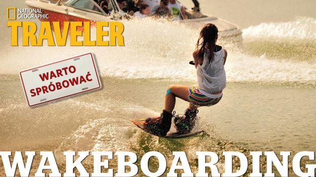 Wakeboarding - sprawdziliśmy, czy to trudne