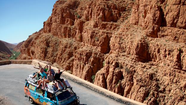 Maroko, śladami szafranu