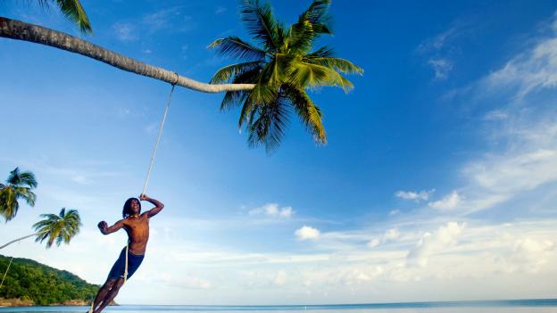 Na karaibskim wybrzeżu Kolumbii bez trudu można się zaszyć gdzieś  na odludziu, najlepiej  pod palmą.