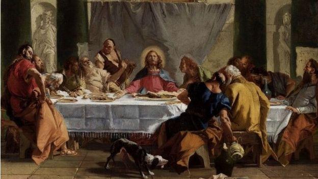 Giovanni Domenico Tiepolo - Ostatnia Wieczerza