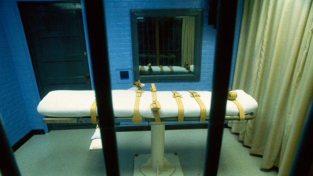 Cela śmierci w więzieniu  Huntsville, Texas, USA