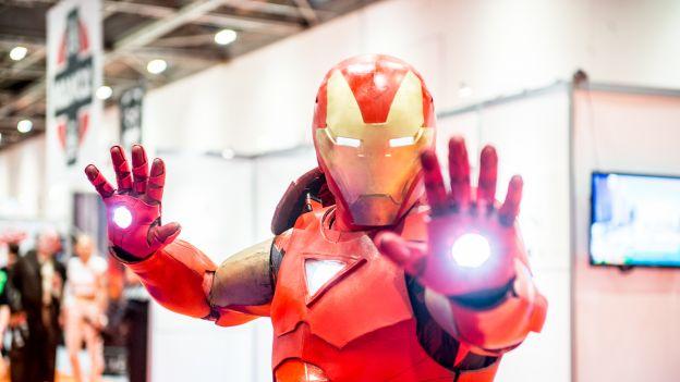 Iron Man na konwencie komiksowym w USA