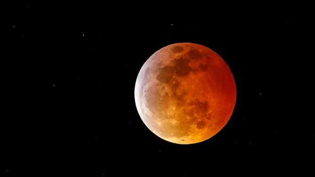 Krwawy superksiężyc - całkowite zaćmienie Księżyca 21 stycznia 2019