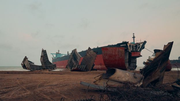 Demontażownia statków w Gadani