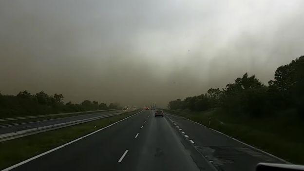 Burza piaskowa w Polsce