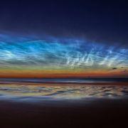 Sunderland Noctilucent Cloud Display © Matt Robinson