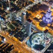 Takich zdjęć Warszawy jeszcze nie widzieliście! Niesamowity widok z wysokości... kilometra [GALERIA]
