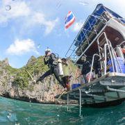 Martyna Skura - nurkowanie w Tajlandii