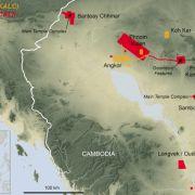 Kambodża - nowe odkrycia