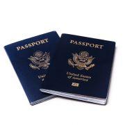 Paszporty w kolorze niebieskim