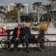 Vlad Miller i Małgorzata Kalicińska w Korei Południowej