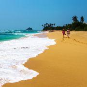 Jedna z rajskich plaż Sri Lanki