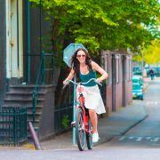 ...nie założysz rowerowych ubrań.