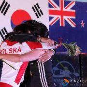 Sukces w finałowej edycji Pucharu Świata we freestyle'u kajakowym.
