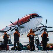 Lodowe piekło Antarktyki