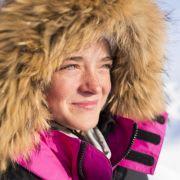 Nastolatka podbija biegun północny