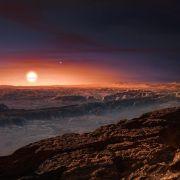 Niedaleka planeta z warunkami do powstania życia