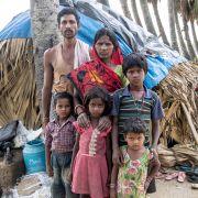 5. Rodzina Chowdhury z Indii