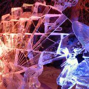 Wystawa rzeźb lodowych w Harbinie