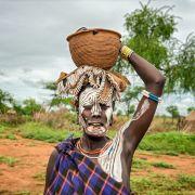 Krążki wargowe w Etiopii