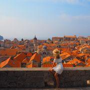 Chorwacja, Dubrowink. widok na Stare Miasto