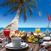To dopiero śniadanie  z widokiem!