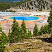 3. Yellowstone i jezioro pryzmatyczne