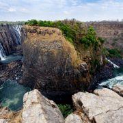 1. Wodospady Wiktorii w Zimbabwe i Zambii