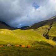 Przełęcz Atsunta  (3431 m n.p.m.)