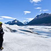 Lodowiec Grey w Chile w Torres del Paine
