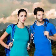 Komplet outdoorowej odzieży termoaktywnej z kolekcji Active Wool marki BRUBECK