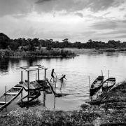 Amazonka w biało-czarnym kadrze 3