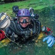 CZŁOWIEK ROKU - Krzysztof Starnawski - za odkrycie najgłębszej podwodnej jaskini na świecie