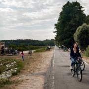 Puszczę Białowieską na Białorusi najłatwiej zwiedzać rowerem.