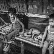 Dzieci stanowią najliczniejszą grupę mieszkańców obozów.
