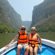 Miłość w podróży. Kanion Sumidero Meksyk
