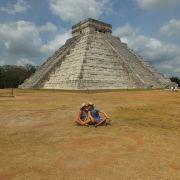 Miłość w podróży. Chichen itza, Meksyk