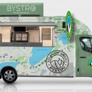 """Food truck """"Bystro"""" (wizualizacja)"""