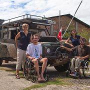 Z Ameryki Południowej do Północnej na wózkach inwalidzkich