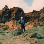 Podczas wyprawy autostopowej na Wyspach Kanaryjskich.