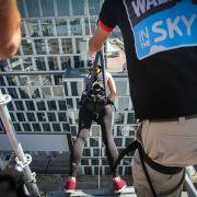 Walk in the sky - spacer po ścianie warszawskiego wieżowca