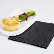 Posiłek w klasie biznes KLM