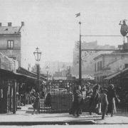 Bazar Różyckiego przed wojną wejście od strony ul. Ząbkowskiej