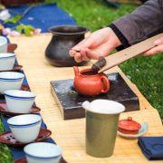 Japonia, spotkanie herbaciane